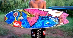 Teiva Joyeux Surf Art