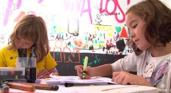 Art Workshop Montana Colors kids