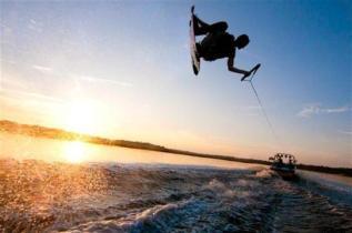Kiteboard & wakeboard Training