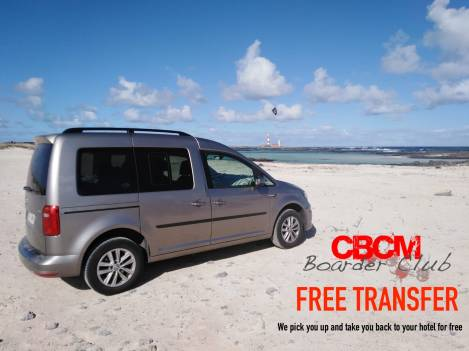 CBCM Free Transfert : We pick you up at your hotel for Free