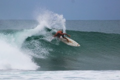Indo chris surfing