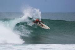 Indo chris surfing