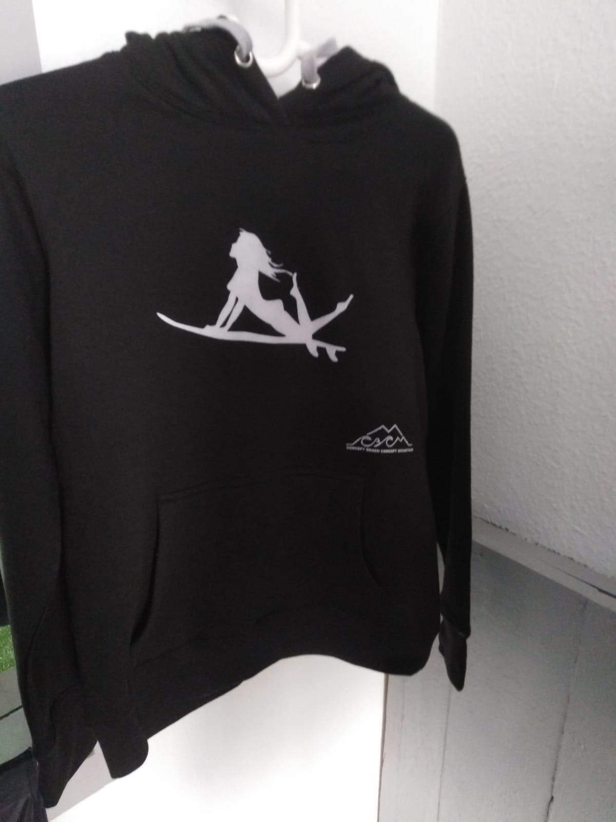 Sweat shirt girls surf